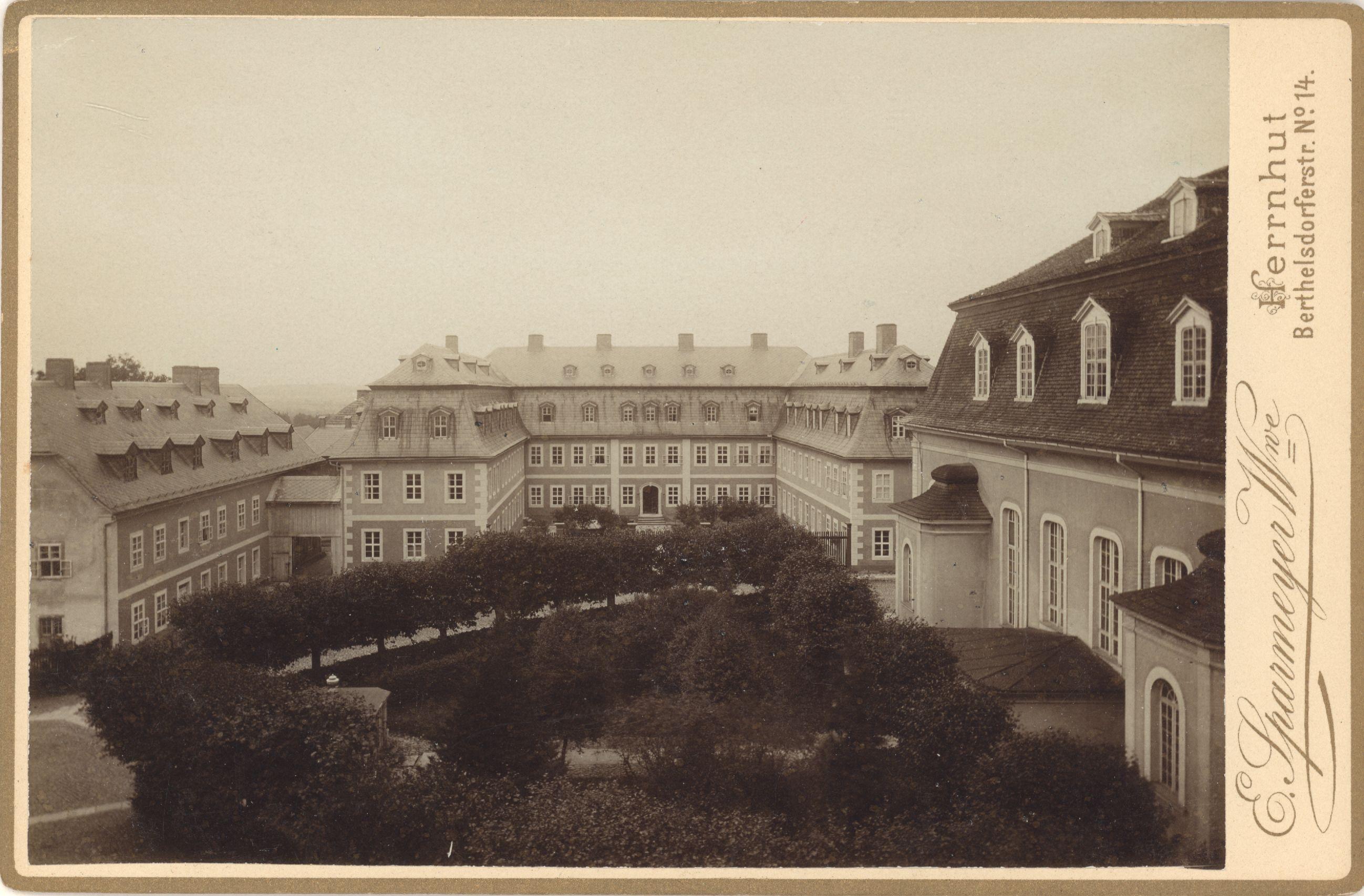 SLUB Dresden: Herrnhut: Impressionen damals und heute